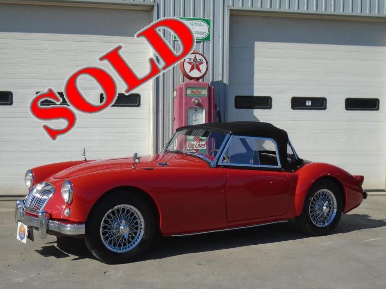 Mg Auto Sales >> Lakeside Auto Sales Bobcaygeon Ontario Vehicles For Sale 1959 Mg Mga