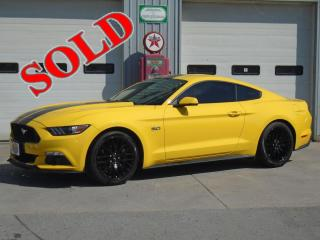 2015 FORD MUSTANG GT PREMIUM w/ PERFORMANCE PKG