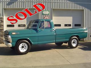 1969 FORD F250 CUSTOM CAB PICK UP